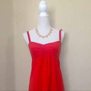 Diane Von Furstenberg Classy Red Baby Doll Dress